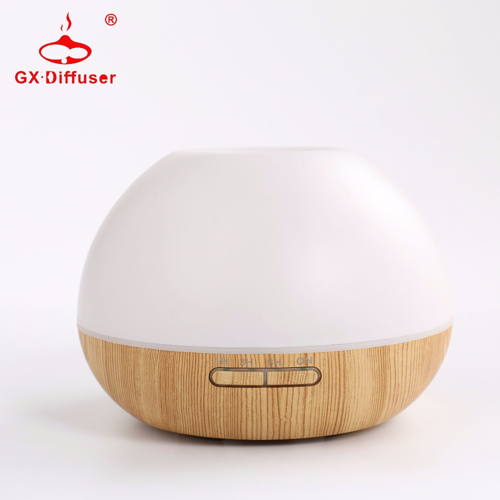 GX.Diffuser Ultrasonic Air Humidifier Essential Oil Aroma Diffuser Aromatherapy 7 Color Change Portable Humidifier Home Office<br>