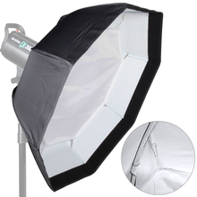 ASHANKS 8-Pole 70cm White Foldable Beauty Dish Octagon Softbox with Bowens Mount for Studio Strobe Flash Light With Portable Bag