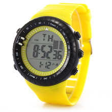 New menwatch 2017 Fashion colorful classical Men LED Digital Date Sport Military Rubber Quartz Watch Alarm Waterproof17323 P*21