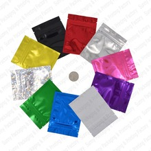 Free Sipping Colorful Top Feed Foil Zip lock Bags Food Pouches,Mylar Aluminum Foil Bags,Tea Pouches,Food Grade Bags Storage
