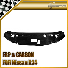 EPR Car Styling For Nissan Skyline R34 GTR Carbon Fiber Garage Defend Style Cooling Panel Glossy Fibre Engine Accessories Trim