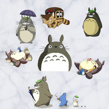 Baby favorite My Neighbor anime wall stickers Totoro 3d vinyl decals nursery kids room decoration warm wallpaper free shipping