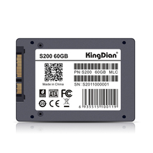 KingDian S200 60GB 64GB SSD Internal Solid State Disk SATAIII for PC Desktop Laptop Factory quality warranty