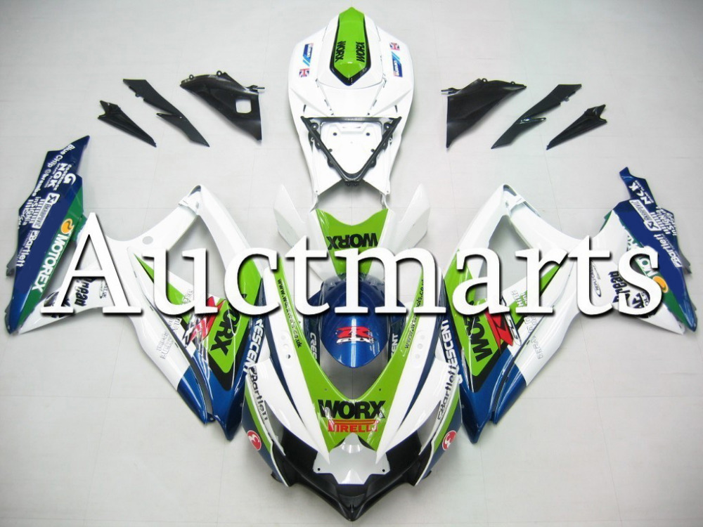 Fit for Suzuki GSX-R 600 2008 2009 2010 ABS Plastic motorcycle Fairing Kit Bodywork GSXR600 08 09 10 GSXR 600 GSX R600 CB19(China (Mainland))