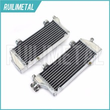 Left Right NEW Aluminium Core MX Offroad motocross cooling Radiators for KTM XC 150 200 250 300 EXC 200 250 350 / SIX DAYS 08-16(China)