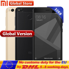 "Global Version Original Xiaomi Redmi 4X 3GB 32GB Mobile Phone Redmi4X Pro smartphone Snapdragon 435 5.0"" Fingerprint(China)"