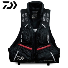 Brand DAIWA DAWA Detachable Breathable Life Jacket Life Vest Fishing Vest Fishing Clothing Fishing Clothes Tackle Flotation Vest