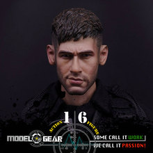1/6 Scale Custom Figure Football Player Head Sculpt Suitable for 12'' Action Figure Model Toy