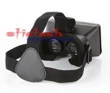 by dhl or ems 100 pieces Best Gift 3D Cinema Glasses Mobile Phone 3D Virtual Reality Glasses Helmet VR Glasses
