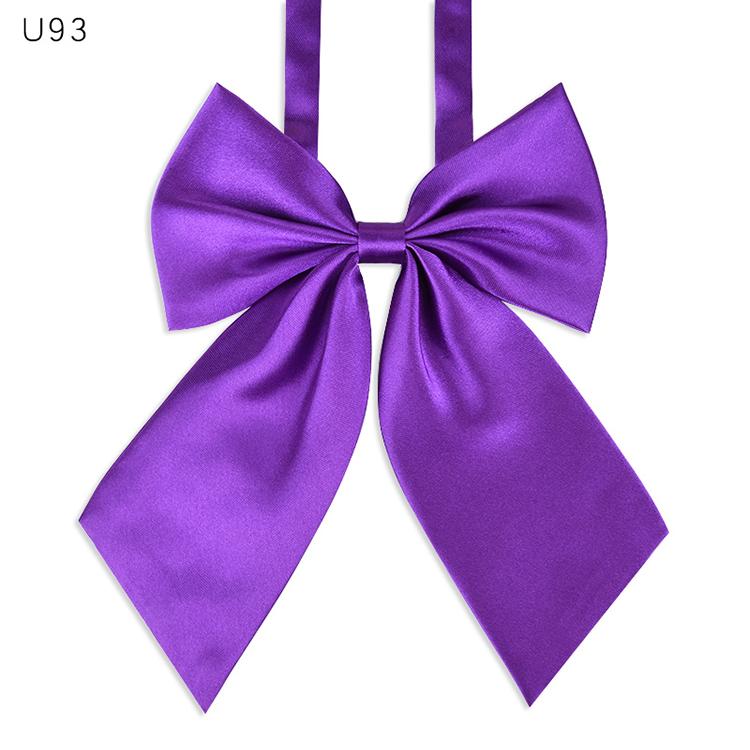 SYAYA japanese Ladies Pre Adjustable Bow Tie Womens Girl Necktie Bowtie Ties B1