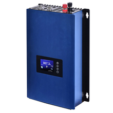 1000W grid tie inverter for wind turbine input 60/90V, output 110/230V, MPPT on grid single/three phase inverter