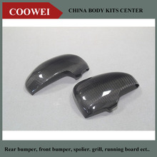 High quality carbon fiber mirror caps car side mirror housings for TOYOTA NEW Reiz 2012 1 pair replacement style(China)