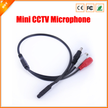Audio Surveillance Wide Range Mini CCTV Microphone for Security Camera