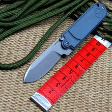 Efeng serge Bean Mini folding knife S35VN blade key chain titanium handle camping pocket knives tactical outdoor EDC tools Knife