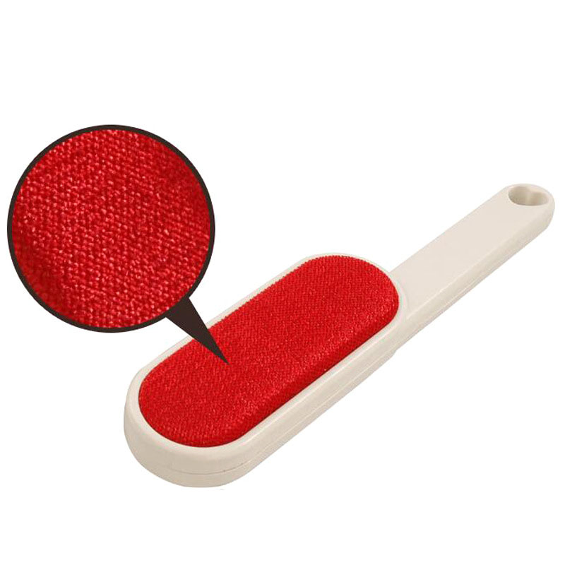 Double Sided Lint Remover Brush Velour Surface for Pet Hair Clothes Dust and Lint, Pet Grooming Accessories3