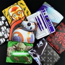 cartoon wallet Jack skull / Biohazard / Black Knight / white soldiers / Nintendo / Darth Maul men wallet(China)