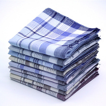 5 stks Multicolor Plaid Streep Mannen Pocket Pleinen Business Borst Handdoek Pocket Hanky Zakdoeken Zakdoeken Sjaals 100% Katoen(China)