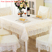 Hot Sale Lace Flower Tablecloth Embroidery Tablecloths Round Tablecloth Rectangular Table Cloth Table Cover