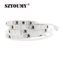 SZYOUMY 12V Led Strip Light 2835 SMD 256 Colors RGB Dream Color Auto Changeable 180 Leds/ M Flexible Light Ribbon Diode Tape
