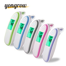 yongrow Infrared Thermometer baby adult Medical Ear Thermometer Digital Thermometer Fever Thermometer Baby LCD Digital Infrared(China)