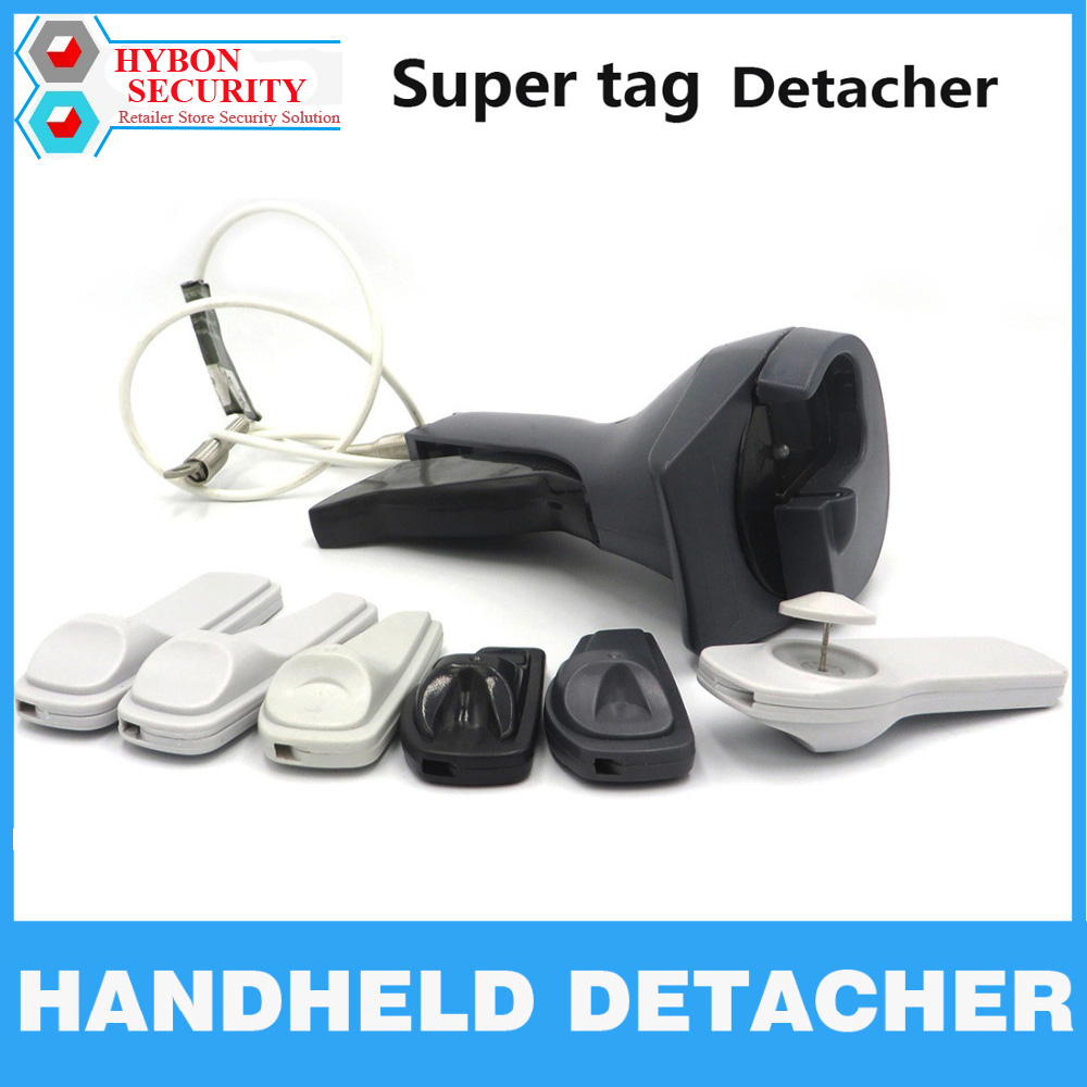 HYBON Gun Handheld Detacher Universal Tag Remover Magnetic Security Tag Detacher gancho desacoplador Magnet Tag Remover <br>