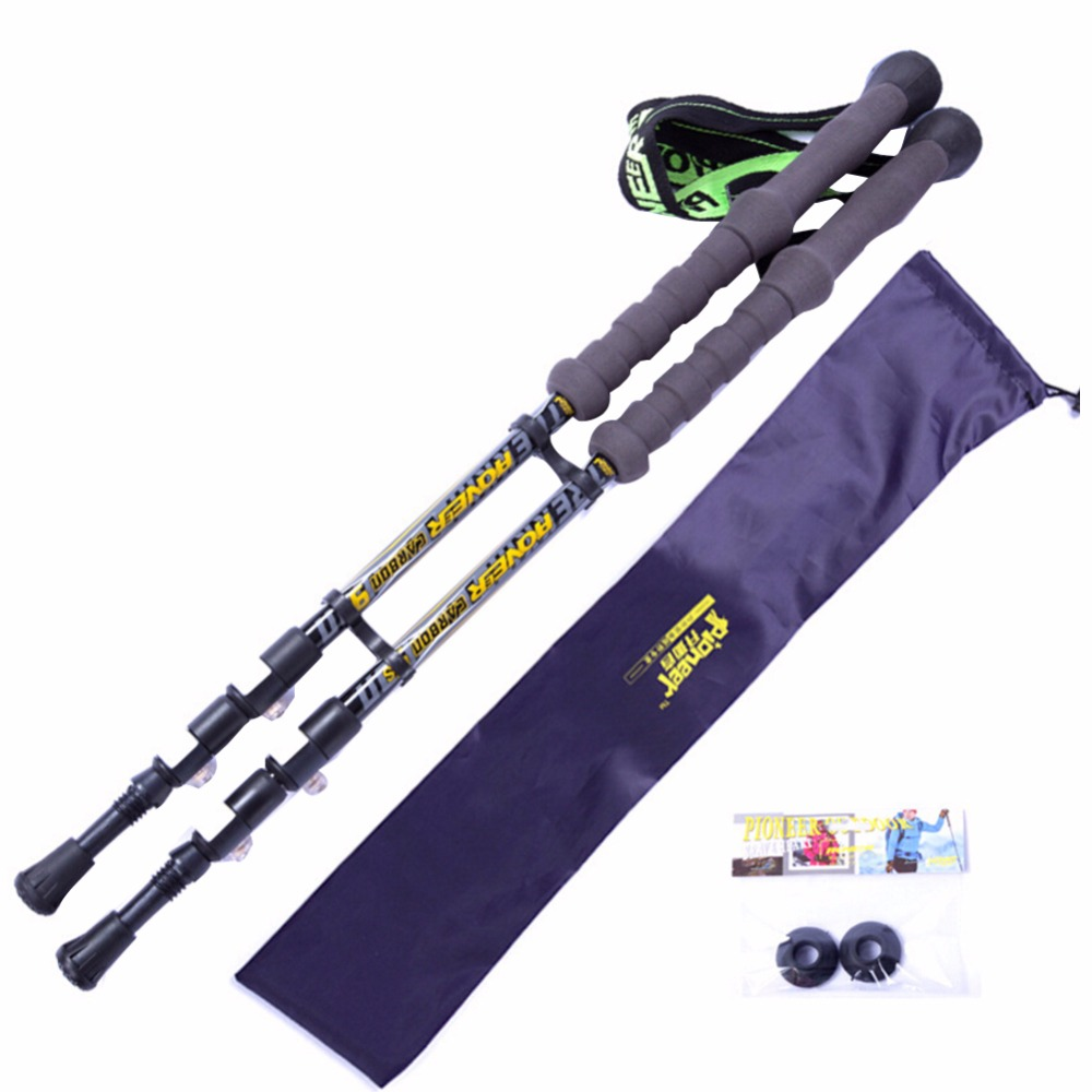2pcs /1Pair Carbon Fiber Trekking Trekking Carbon Nordic Walking Stick Walking Stick For Tourism<br>