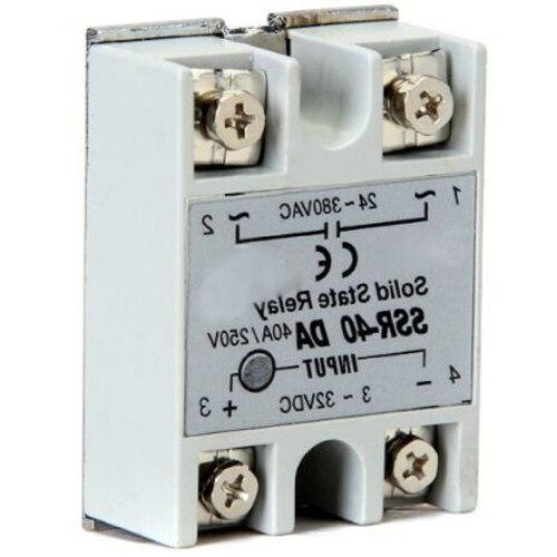 SSR-40DA Solid Relays 3-32V DC / 380V 24-AC / 40A<br><br>Aliexpress