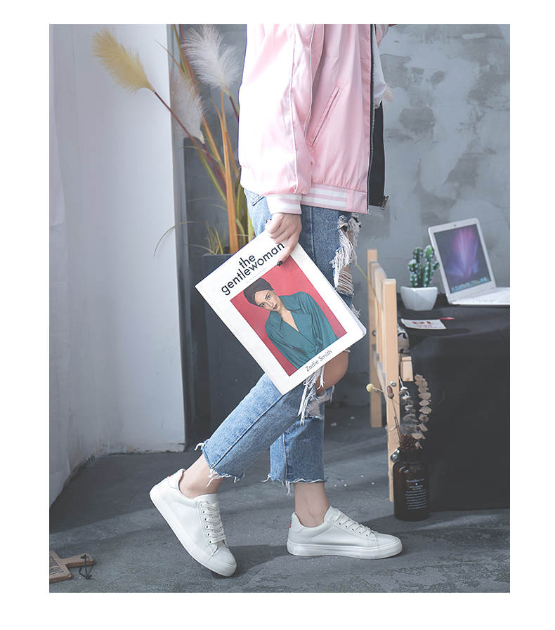 حذاء نساء لون ابيض 7
