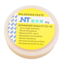 50g Rosin Soldering Flux Paste Solder Efficient Welding Grease Facilitate Soldering Wetting Agent Cream for Phone PCB Teaching(China)