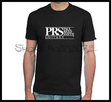 PRS Paul Reed Smith Guitar Logo black short sleeve T-Shirt
