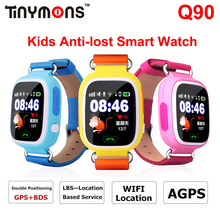 GPS Q90 Smart Watch Anti Lost Location Tracker Wifi Kids Smartwatch SIM Phone Watches Anti-Lost SOS Touch Screen PK Q50 Q60 Q80(China)