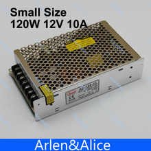 120W 12V 10A  Small Volume Single 12 volt Output Switching power supply for LED Strip light power suply