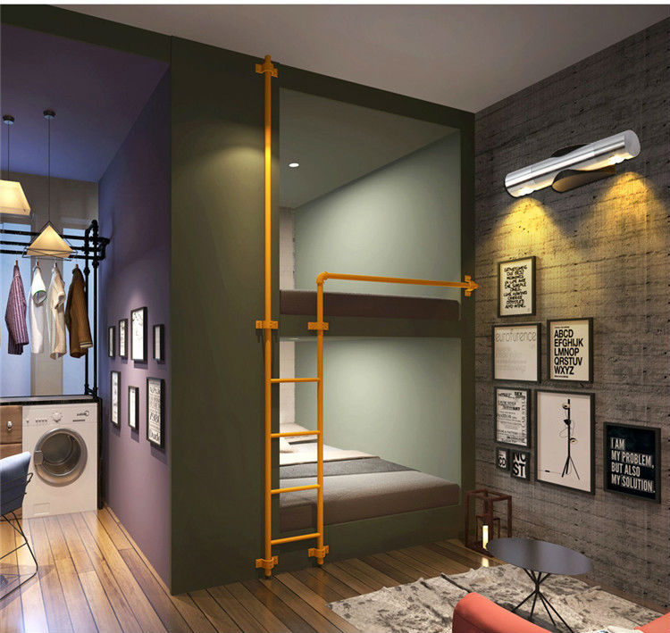 Popular mondern direction adjustable wall lamp up and down lighting 85-265V 2W led bedside light foyer wandlamp bar decoration