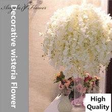 11pcs/lot 69cm artificial wisteria silk decorative flower wedding Bouquet for home party decoration Hotel/studio Photo props