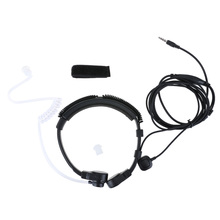 3.5mm Wired Anti-Radiation Headphone Earphone Air Tube Throat Headset Earbud Spiral Headset for Xiaomi iPhone Samsung MP3 Phone(China)