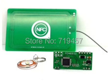 FREE SHIPPING 13.56mHz card reader RF module NFC/RFID serial transmission distance