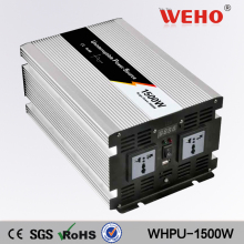 WEHO factory outlet  pure sine wave solar inverter with battery WHPU-1500