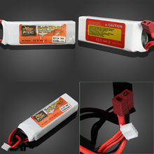 1pcs ZOP Power 11.1V 2200MAH 20C Lipo Battery T Plug/XT60 Plug For RC Drone Models Helicopters Airplanes Cars Boat Batteria