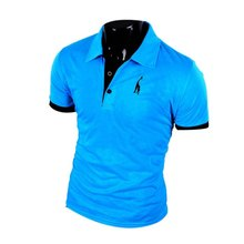 Summer Style Big Size Brand Polo Shirt Men M-XXXL Short Sleeve Classic Solid Slim Tops Blouses