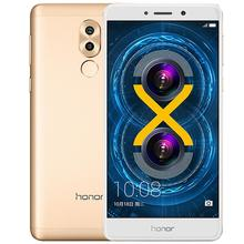 Original Huawei Honor 6X 3G RAM 32G ROM Mobile Phone 4G LTE 5.5 Inch 1920x1080P 3340mAh Android 7.0 Fringerprint ID Metal body(China)