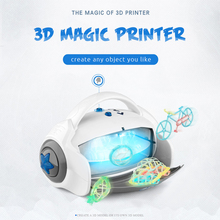 3D Magic Printer Toy Original Creation Drawing Maker Painter Kids Best DIY Gift Birthday Present Drawing Toy Set with 9 Mold(China)