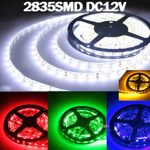 Wholesale 1m 2m 3m 4m 5m 0.5m 2835 SMD Led Strip Light DC12V 60 Leds/M Fiexble Led Ribbon Tape,SMD LED White/Warm/Blue/Red/Green