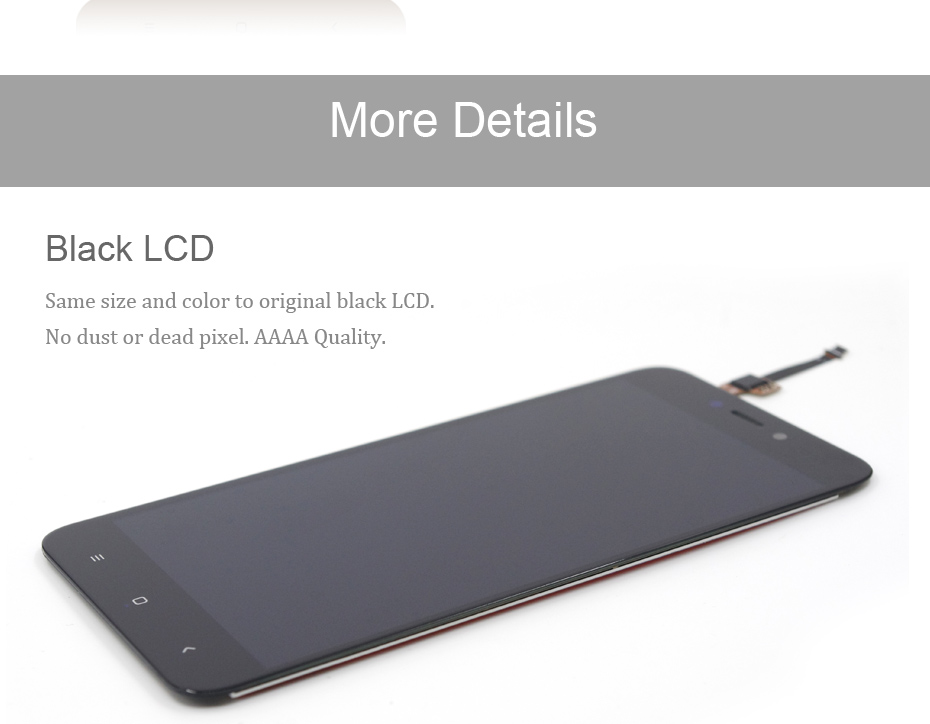 HORUG 100% AAAA Original LCD For Xiaomi Redmi 4X Screen LCD Replacement Display Touch Redmi 4X Screen Kits Quality Screen LCDS (11)