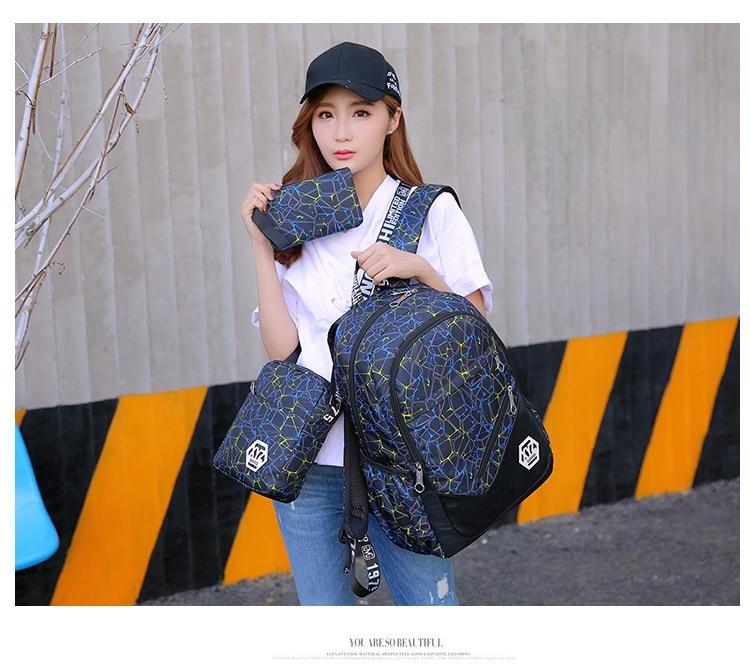 حقائب مدرسية عالية الجودة قماش 22