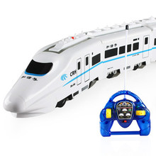 Harmony children rechargeable electric train toy trains large high-speed model boy birthday gift(China)