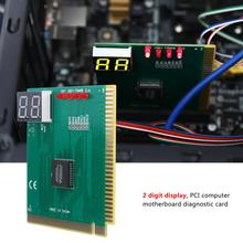 New 2 Digit PCI PC Diagnostic Card Motherboard Tester Analyzer Post for LAPTOP Power On Self Test Card(China)
