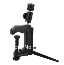 Mini Portable Clamp Tripod Swivel Camera Stand Tripod or Table C-Clamp for sony canon nikon Camera Camcorder and DSLR & SLR