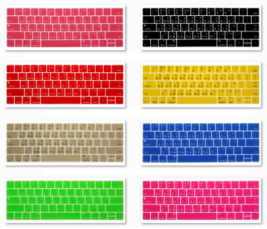 Silicone Waterproof Keyboard Cover for MacBook Air 13 A1932 Touch Us Enter Spanish French Thai Taiwanese Alphabet-Taiwan
