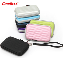 Hdd case waterproof external hard drive cover shockproof 2.5 external hard drive case  for WD My Passport 7 colors available