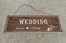 Personalized Outdoor Wedding Reception & Ceremony Decoration Directional Signs wedding sign board Rustic style SB004H